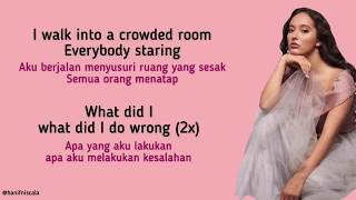 Faouzia - You Don't Even Know Me | Lirik Terjemahan