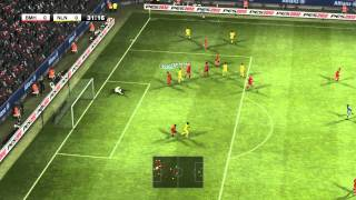 PES 2012 First Game Part 1 - Pro Evolution Soccer 2012 Final Release