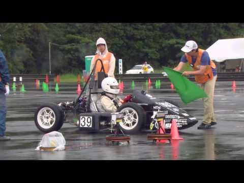 2016 Student Formula Japan: Accelaration/Skidpad
