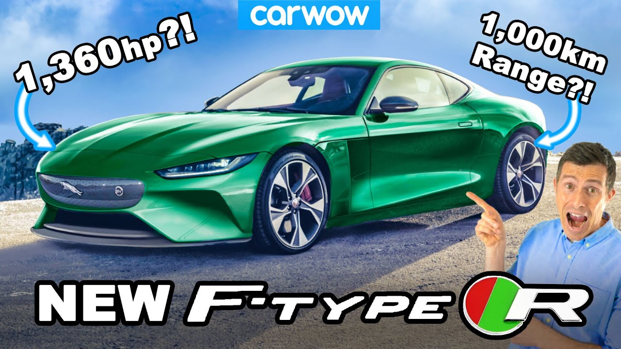 New Jaguar F-Type R - an EV with 1,360hp and 1,000KM range?