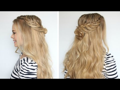 Romantic Prom Hairstyle with Luxy Hair Extensions | Missy Sue