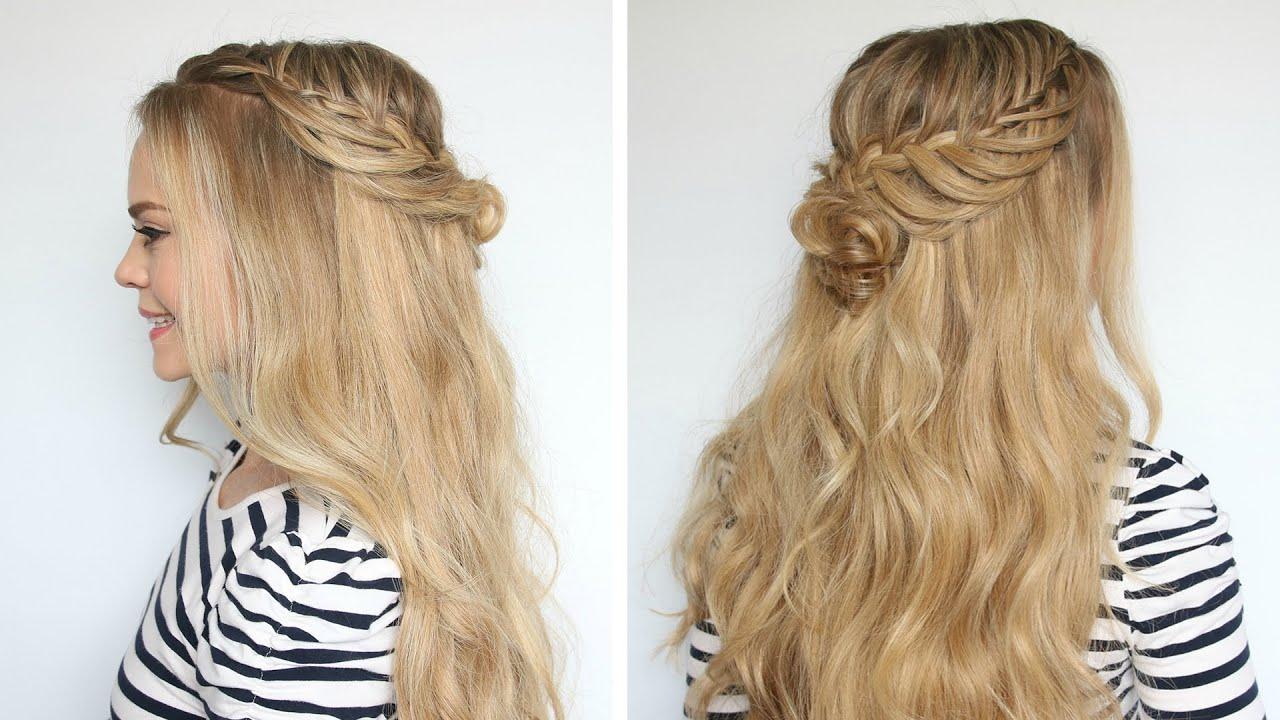 Romantic Prom Hairstyle with Luxy Hair Extensions