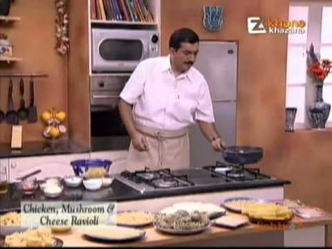 Khana Khazana December 05 '11 – Chicken, Mushroom & Cheese Ravioli