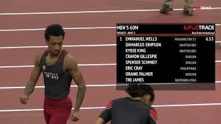 Emmanuel Wells 6.53 60m At Don Kirby Invite