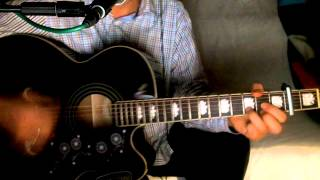 Desperately ~ Bruce Robison - George Strait ~ Acoustic Cover w/ Epiphone EJ-200CE BK