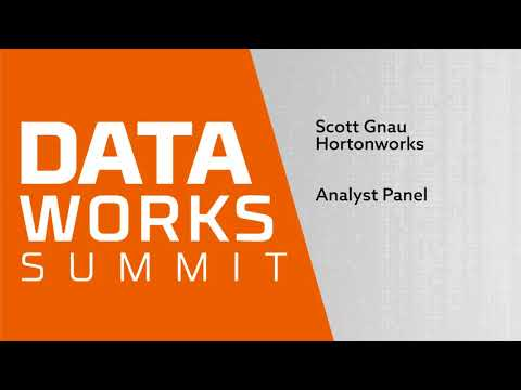 Analyst panel unravels the data industry