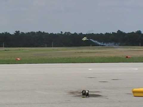 J.C. Zankl---flight and crash: 2009 XFC