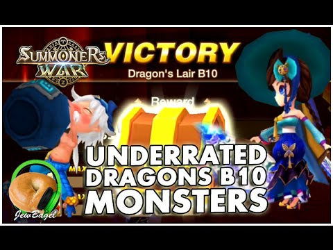 SUMMONERS WAR : Underrated Dragons B10 Monsters!