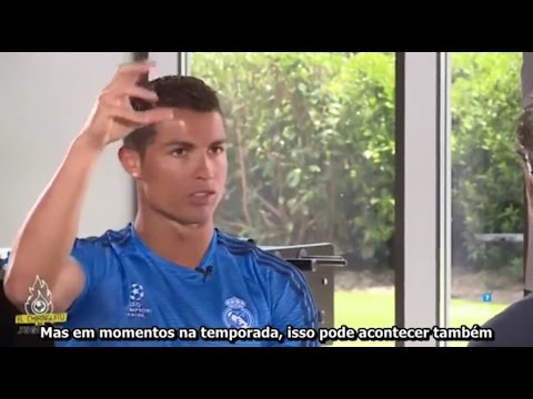 Entrevista Cristiano Ronaldo antes da 11º Champions Legendado (PT-BR)