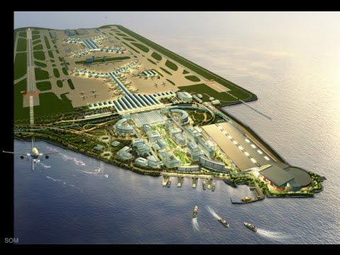 Megastructure Hong Kongs Airport part 1 Construction Documenrary.