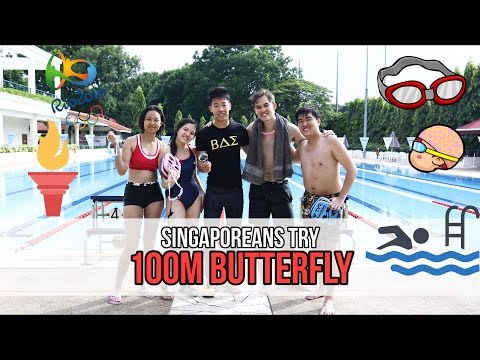 Singaporeans Try: 100M Butterfly (Joseph Schooling Tribute) | EP 65