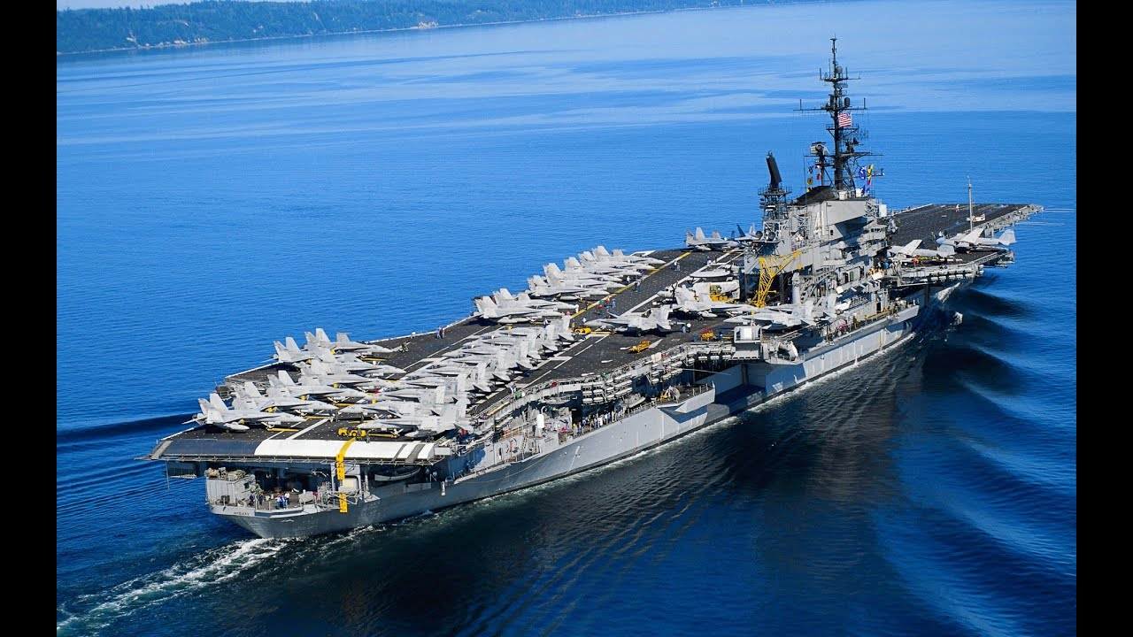 American -Aircraft carrier- Navy base is located here onboard is a ...