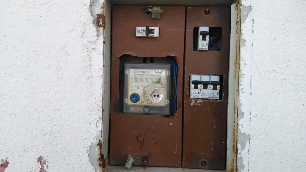 Sigorta Kutusundan Hat ve kablo Çekme,Elektrik alma,nasıl yapılır.Sigorta kutusu ve sayaç bağlantısı