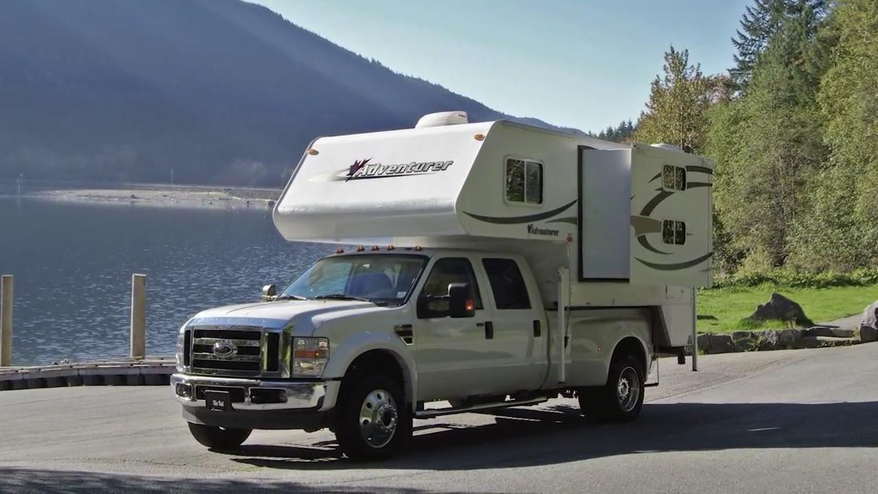 Truck camper fraserway