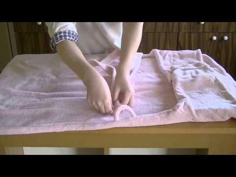 Как красиво упаковать халат