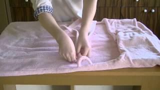 Как се сгъва халат, практични уроци www.unidelivery.eu