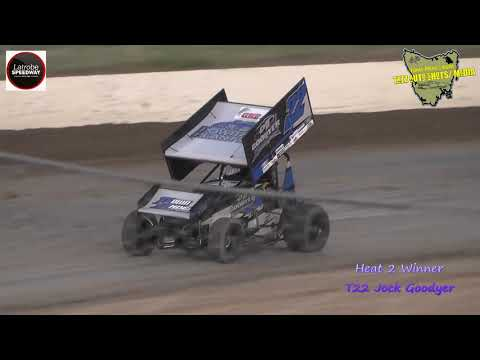 Sprintcars Latrobe Speedway 8/12/18
