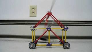 K'nex Trebuchet Prototype Test 1