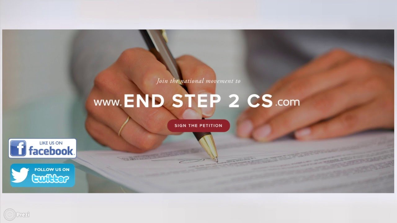 About Step 2 CS — End Step 2 CS