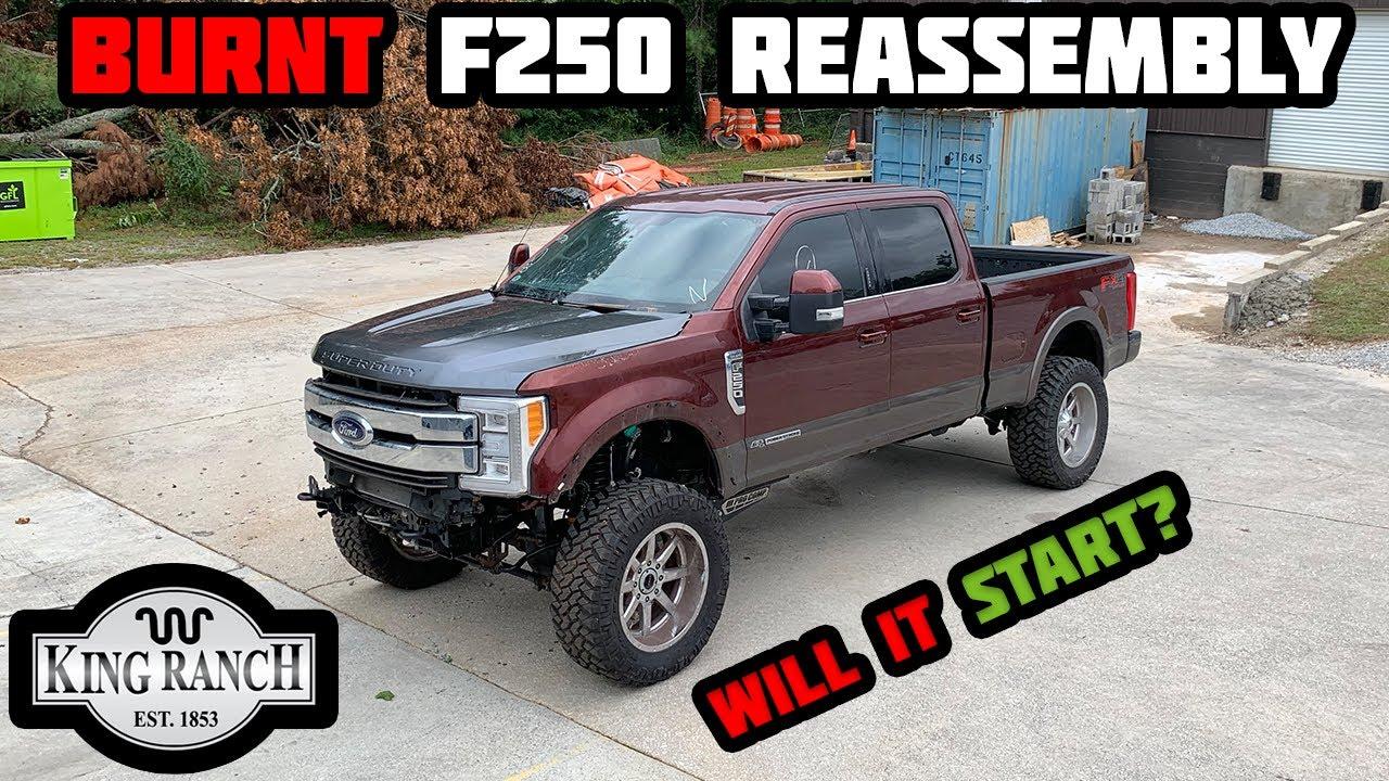 Rebuilding A Burnt 2017 Ford F250 Part 4