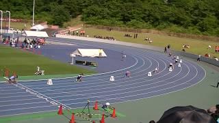 2017年 奈良県高等学校陸上競技対校選手権大会 男子 4×100m 決勝