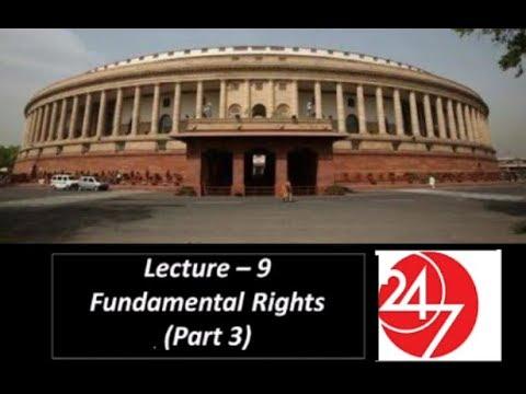 P9 : Fundamental Rights (Part 3) || SSC CGL, SSC CHSL, UPSC, UPPCS, RAILWAYS, CAPF SI/ASI, BPSC, etc