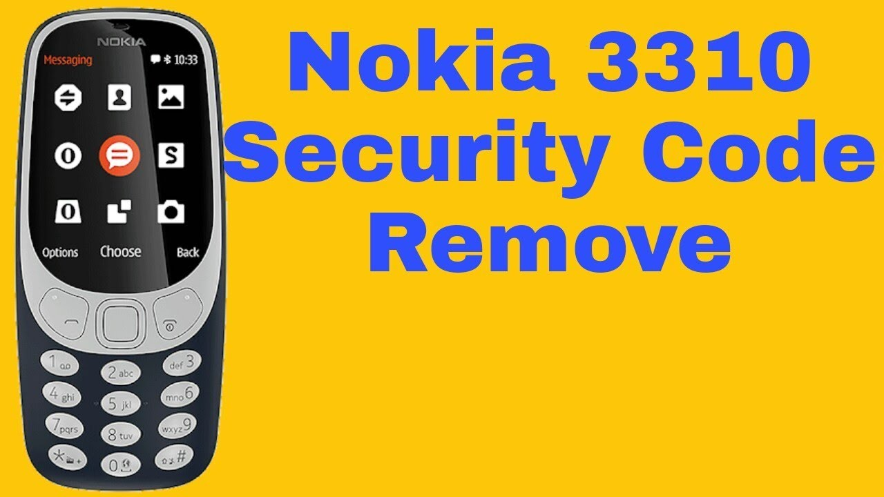 How to hack a nokia phone security code