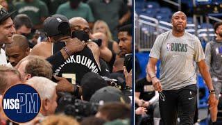 Vin Baker on Coaching Giannis & Bucks' Championship Playoff Journey