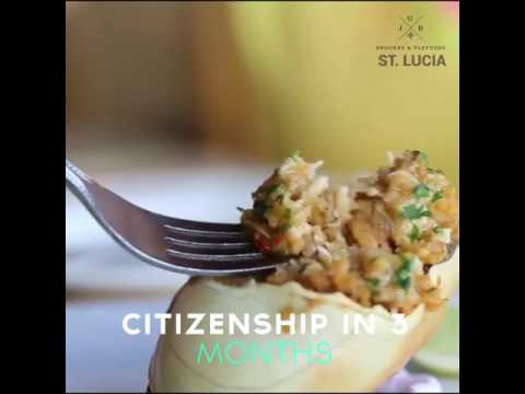 St Lucia Caribbean Second Citizenship & Passport, Grenada, Dominica, St Kitts, Antigua Programme​