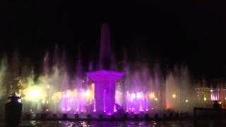 Vigan City dancing fountain