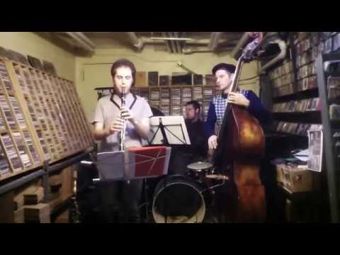 VORTKIP Trio #2   Elijah Shiffer,  Britt Ciampa,  Nicolas Letman, NYC 10/30/16