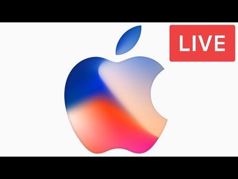 Live Apple Event - Apple September Event 2017 - iPhone 8, iPhone X, iOS 11 - App