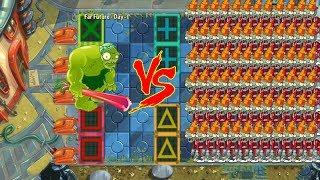 999 ZoyBean Pod vs 99999 Zombies - Plants vs zombies 2