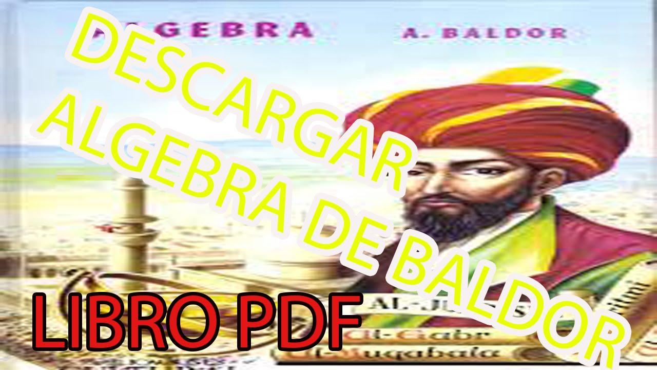 DESCARGAR Libro ALGEBRA DE BALDOR 2015( Descargar Libro En