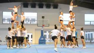 cheer dance level 5 or level 6? NU PEP SQUAD