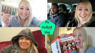WEEKEND VLOG 28: Boots Sale Haul, Make Up Tidy & Sing!