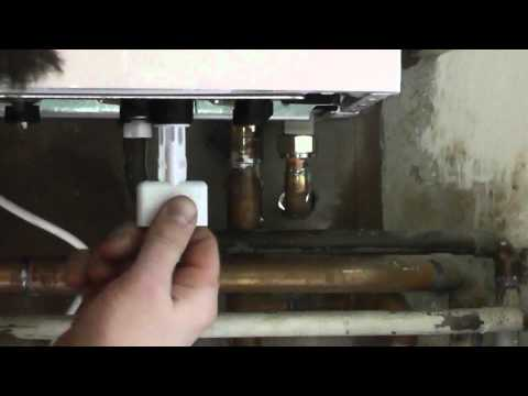 how to fill a worcester bosch 25si boiler with internal filling link