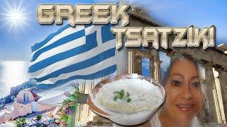 How To Make Tsatziki - Traditional Greek Yogurt Sauce