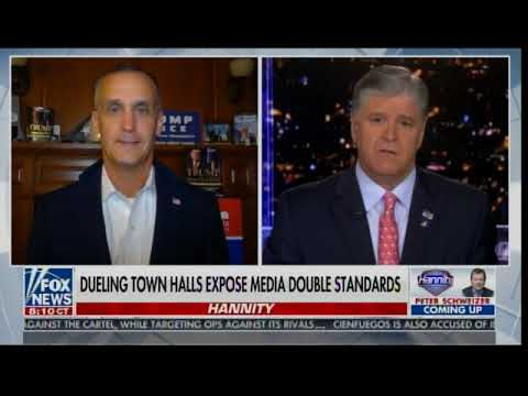 "Corey Lewandowski: ""Our Polls Today Internally - are Better Today than They were 4 Years Ago!&q"