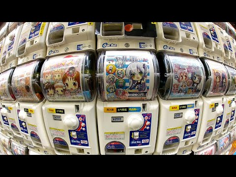 Gachapon: Capsule Toy Adventure in Akihabara ★ ONLY in JAPAN
