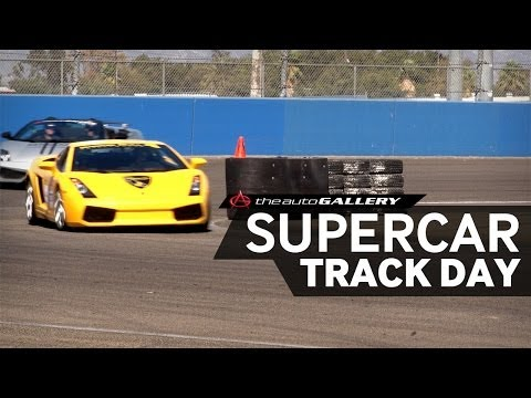 The Auto Club Speedway Done Right During Supercar Track Day | The Auto Gallery