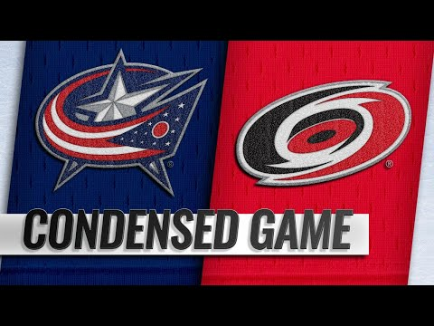 01/04/19 Condensed Game: Blue Jackets @ Hurricanes
