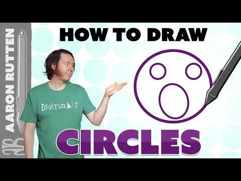 How to Draw Better CIRCLES - Digital Art Tutorial
