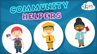 Community Helpers for Kids | Jobs & Occupations for Toddlers, Preschool and Kindergarten