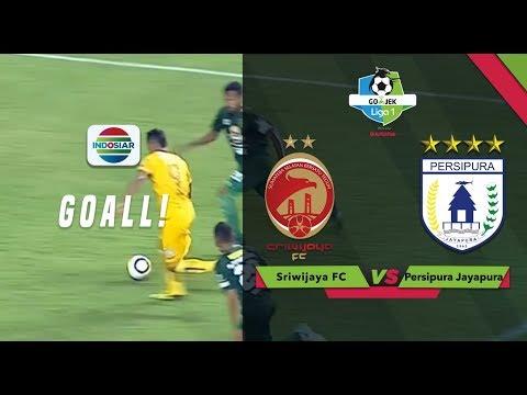 Goal Alberto Goncalves - Persebaya (1) vs Sriwijaya FC (1) | Go-Jek Liga 1 bersama Bukalapak
