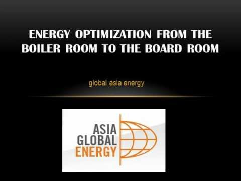 Global Asia Energy News Articles: Energy Optimization from the Boiler Room to the Board Room