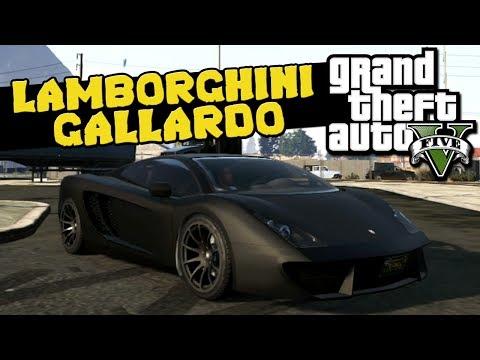 GTA V - Lamborghini Gallardo (Tunando)