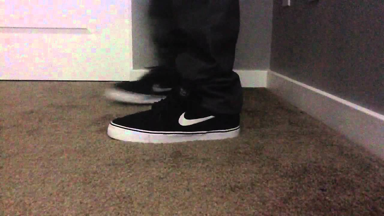 Mid to low top cut nike sb janoski on feet review - YouTube acec0e95c