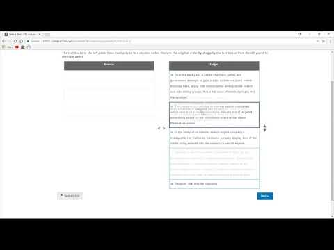 Pearson PTE - A - Scored Practice Test A Complete Scored Practice test - Clip 2