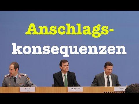Anschlagskonsequenzen - Komplette Bundespressekonferenz vom 21. Dezember 2016